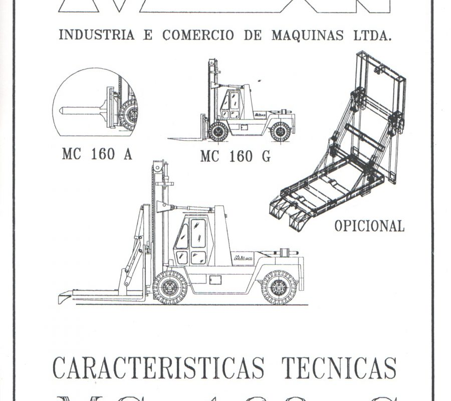 Catalogo MC 160 G - Capa